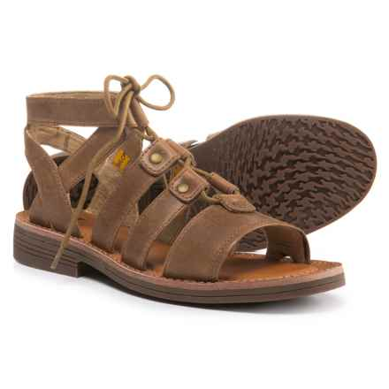 Caterpillar Kobbi Sandals - Leather (For Women) in Tater - Closeouts