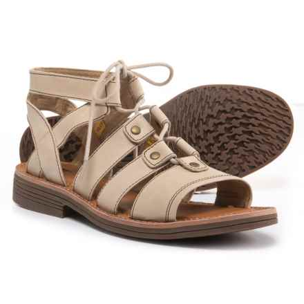 Caterpillar Kobbi Sandals - Leather (For Women) in Warm Sand - Closeouts