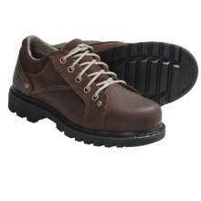 Caterpillar Lala Work Shoes - Leather (For Women) in Dark Brown - Closeouts