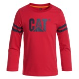 Caterpillar Logo T-Shirt - Long Sleeve (For Toddlers and Little Boys)