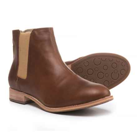 Caterpillar Matilda Chelsea Boots - Leather (For Women) in Brown Sugar - Closeouts