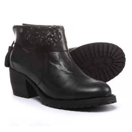 Caterpillar McKenna Ankle Boots - Leather (For Women) in Black - Closeouts