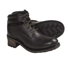 Caterpillar Missy Lace-Up Boots - Leather (For Women) in Black - Closeouts