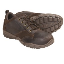 Caterpillar Ratify Shoes - Leather (For Men) in Dark Brown - Closeouts