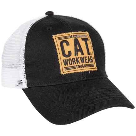Caterpillar Ravalli Baseball Cap (For Men) in Black - Closeouts