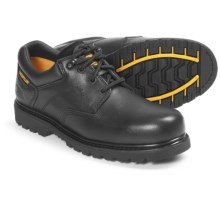 Caterpillar Ridgemont Work Shoes - Leather (For Men) in Black - Closeouts