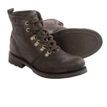 Caterpillar Ruben Boots - Leather (For Men) in Dark Brown - Closeouts