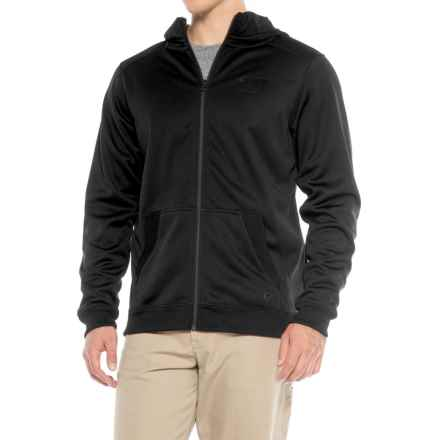 Caterpillar Shield Fleece Hoodie - Full Zip (For Men) in Black - Closeouts