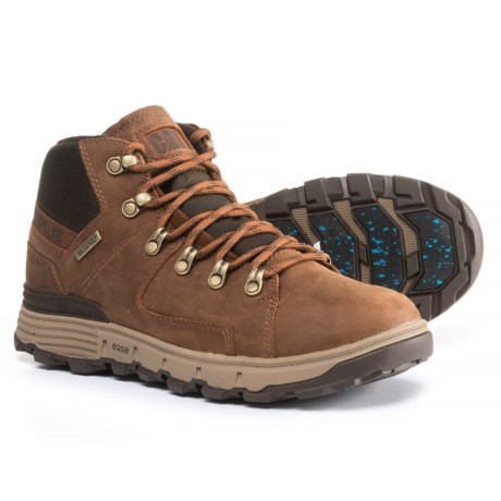 Caterpillar Stiction Boots - Waterproof, Insulated, Leather (For Men) in Brown Sugar