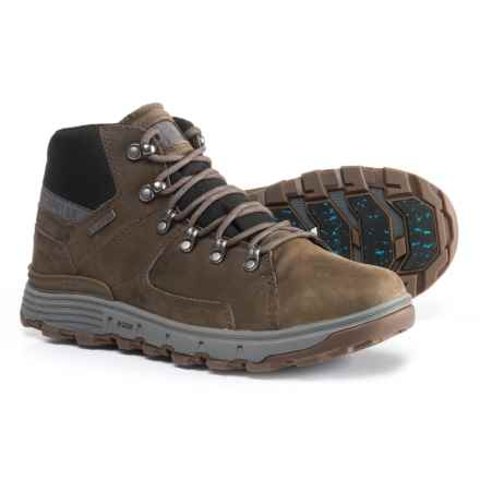 Caterpillar Stiction Boots - Waterproof, Insulated, Leather (For Men) in Dark Grey - Closeouts