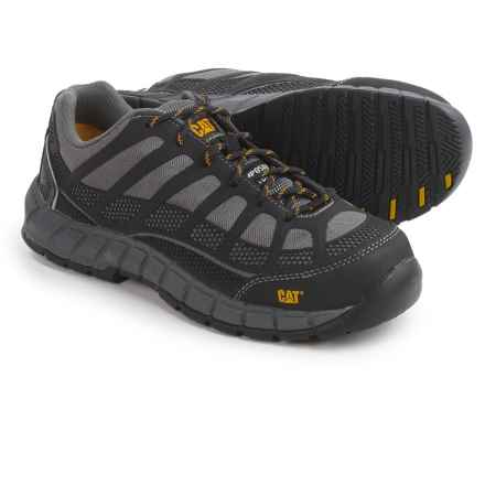 Caterpillar Streamline Work Shoes - Composite Toe (For Women) in Grey - Closeouts