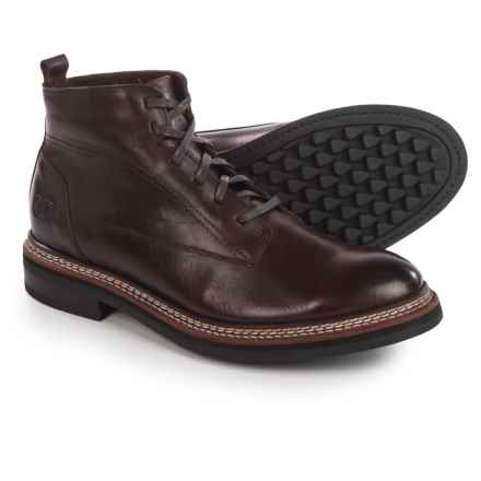 Caterpillar Sutter Boots - Leather (For Men) in Burgundy - Closeouts