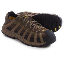Caterpillar Switch Steel Toe Work Shoes (For Men) in Worn Brown - Closeouts