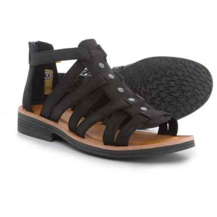 Caterpillar Teshie Flat Sandals (For Women) in Black - Closeouts