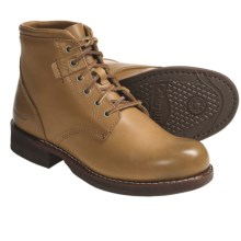 Caterpillar The Luther Mid Boots - Leather (For Men) in Papyrus - Closeouts