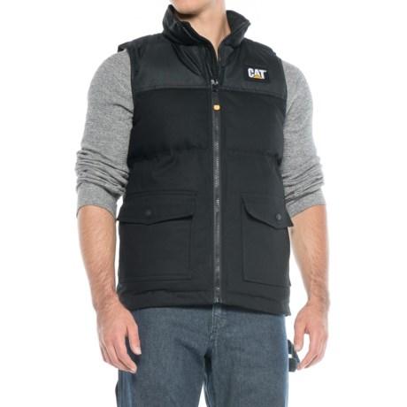 Image of Caterpillar Trademark Vest - Insulated (For Men)