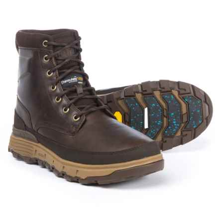 Caterpillar Viaduct Ice+ Boots - Waterproof, Insulated, Leather (For Men) in Dark Brown - Closeouts