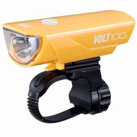 CatEye Volt100 Cycling Headlight in Yellow - Closeouts