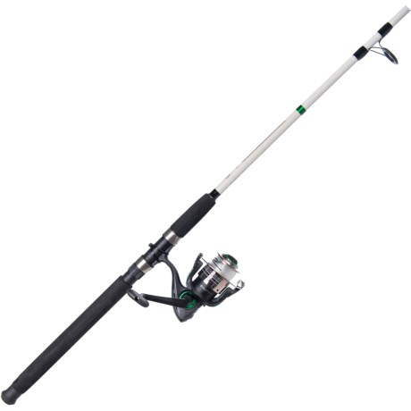 Catfish Spinning Rod and Reel Combo with Tackle Kit – 7? 2-Piece, Medium Heavy
