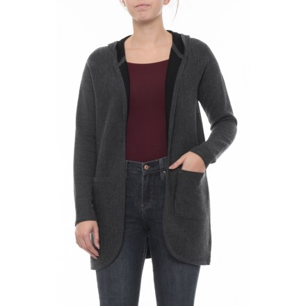 e3d3f74225 Catherine Malandrino Cardigan with Patch Pockets - Merino Wool