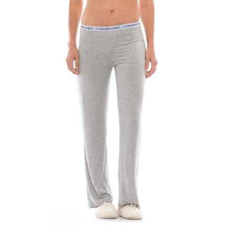 Catherine Malandrino Pajama Pants (For Women) in Heather Gray