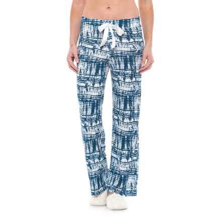 Catherine Malandrino Tie-Dye Pajama Pants (For Women) in Blue - Closeouts