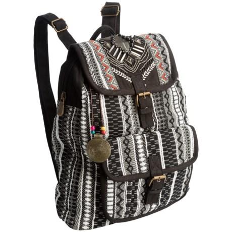 Catori Nova Backpack (For Women) in Black/Multi
