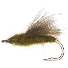 CDC Beottis Emerger Fly - Dozen in Natural - Closeouts