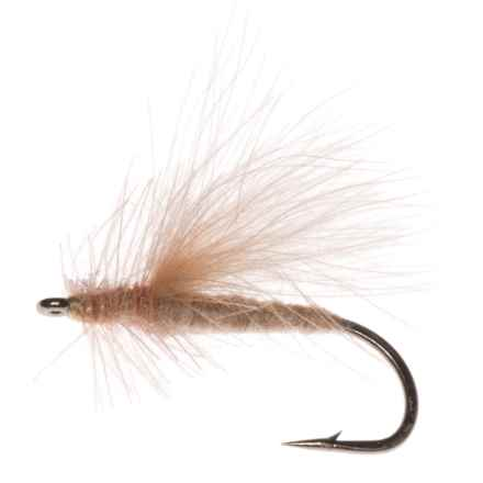 CDC Caddis Dry Fly - Dozen in Brown - Closeouts