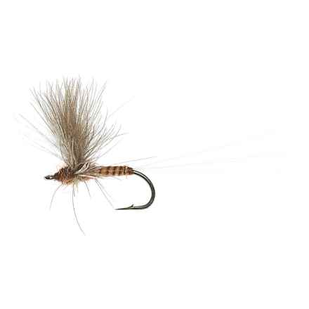 CDC Comparadun Dry Fly - Dozen in Red Quill - Closeouts