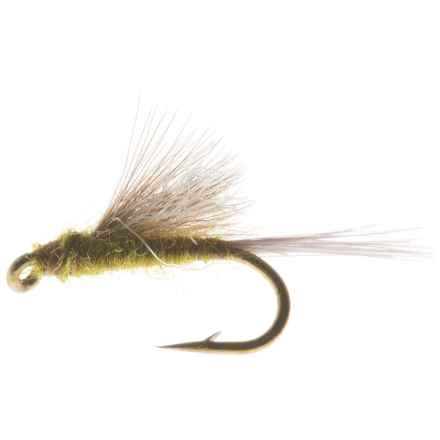 CDC Tailwater Dun Dry Fly - Dozen in Blue Winged Olive - Closeouts