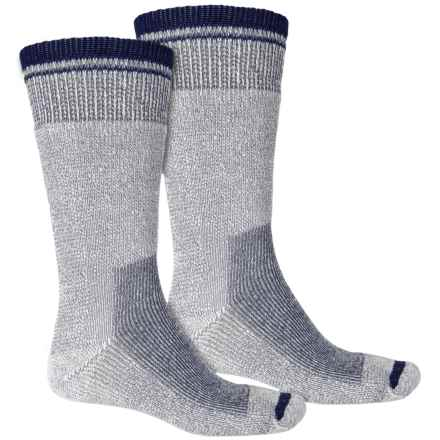 C.E. Schmidt Thermal Wool-Blend Socks - 2-Pack, Crew (For Men) in Navy - Closeouts
