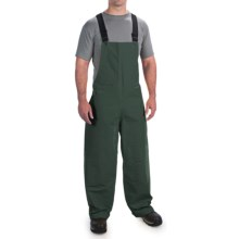 Cedar Key Pier Six Bib Pants (For Men) in Green - Closeouts