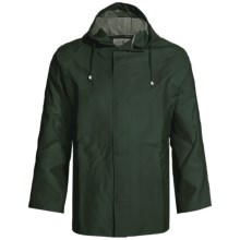 Cedar Key Pier Six Rain Jacket (For Men) in Green - Closeouts