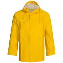 Cedar Key Pier Six Rain Jacket (For Men) in Yellow - Closeouts