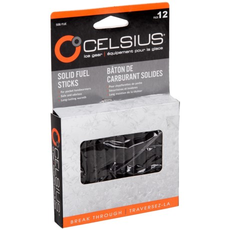 Celsius Solid Fuel Sticks - 12-Pack in See Photo