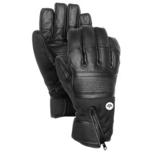 Celtek Lira Waterproof Insulated Gloves - Touch-Fasten Compatible (For Men) in Black - Closeouts