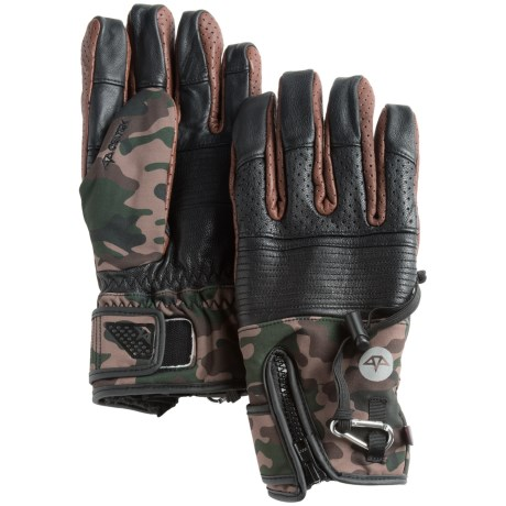 Celtek Lira Waterproof Insulated Gloves Touch Fasten Compatible (For Men)