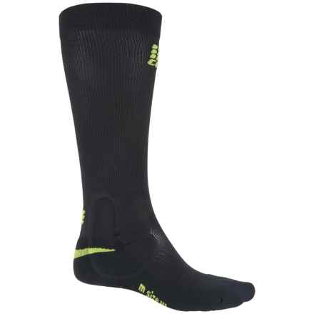 CEP Ortho+ Ankle Support Compression Socks - Over the Calf (For Men) in Black/Green - Closeouts