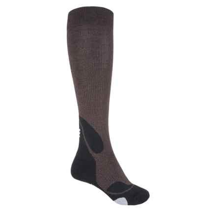 CEP Progressive+ Outdoor Compression Socks - Over the Calf (For Women) in Brown/Black - Closeouts