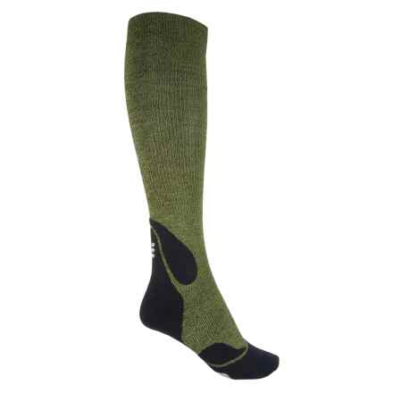 CEP Progressive+ Outdoor Compression Socks - Over the Calf (For Women) in Green/Black - Closeouts
