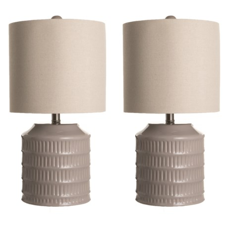 Image of Ceramic Table Lamps - Set of 2