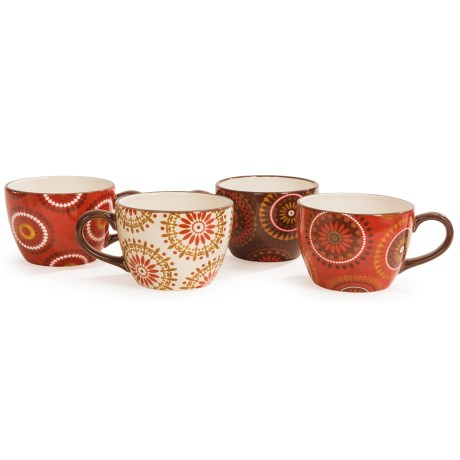 Certified International Cup of Joe Jumbo Cups - 26 fl.oz., Set of 4 in Cup Of Joe