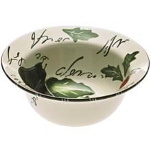 Certified International Melanzana Deep Serving Bowl - Ceramic in Melanzana - Closeouts