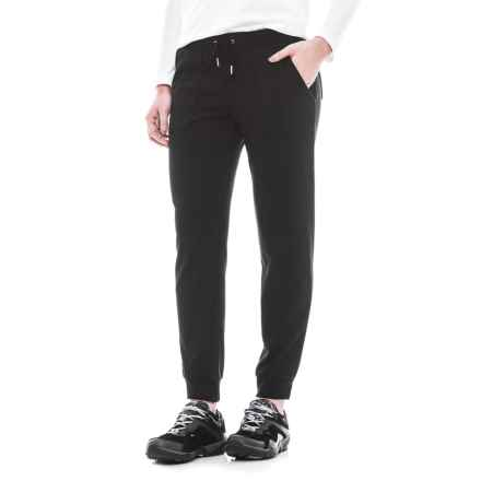 CG Cable & Gauge Knit Joggers (For Women) in Black - Closeouts