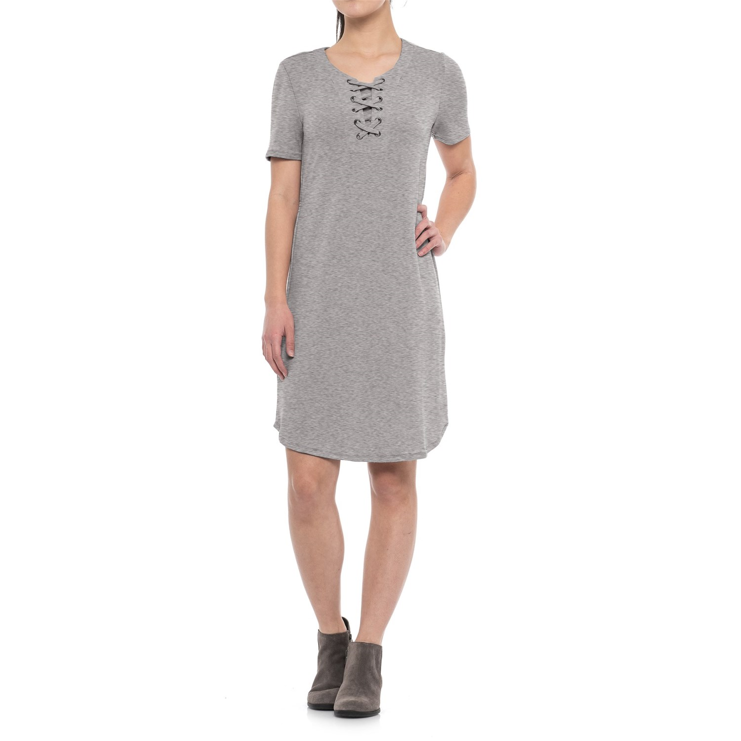 CG Cable & Gauge Lace-Up Dress (For Women) - Save 48%