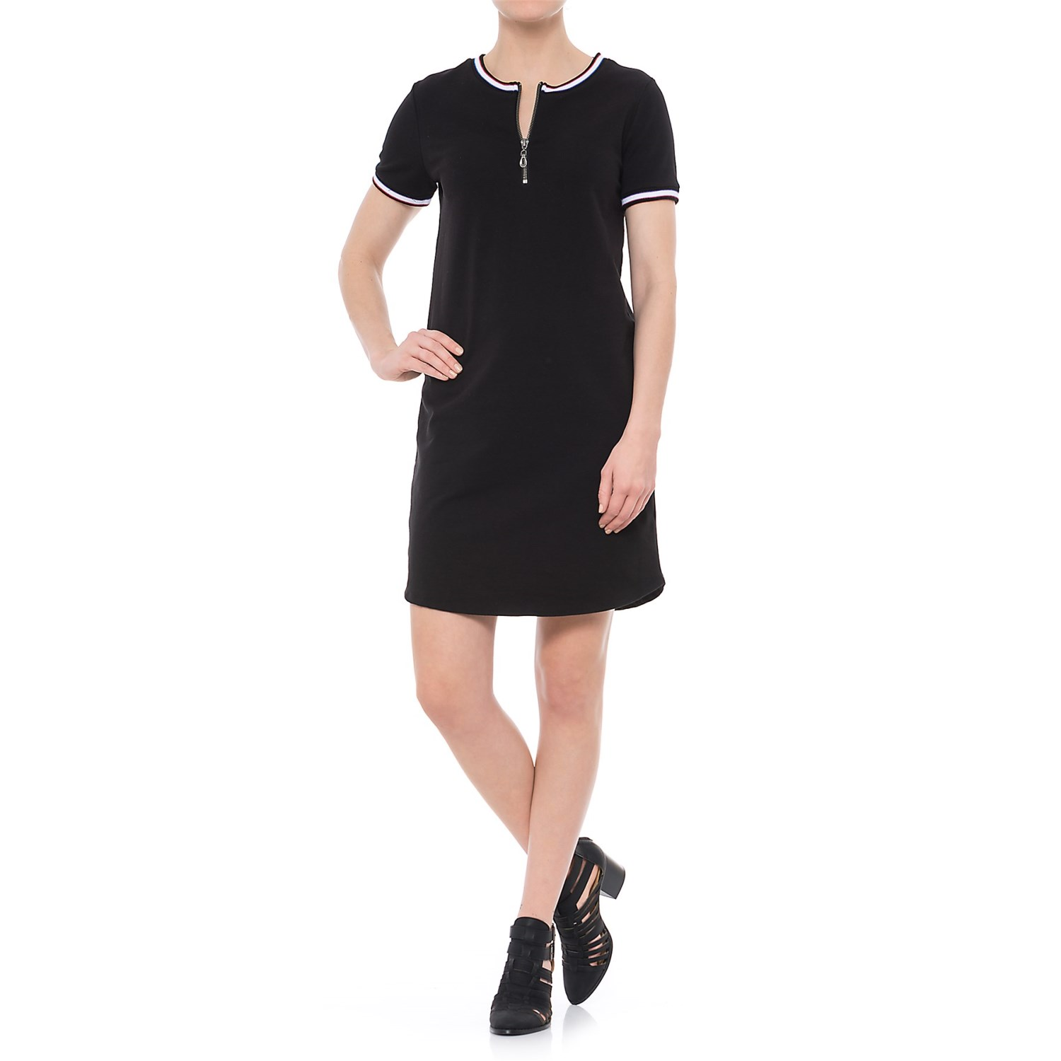 CG Cable & Gauge Summer French Terry Dress (For Women) - Save 48%