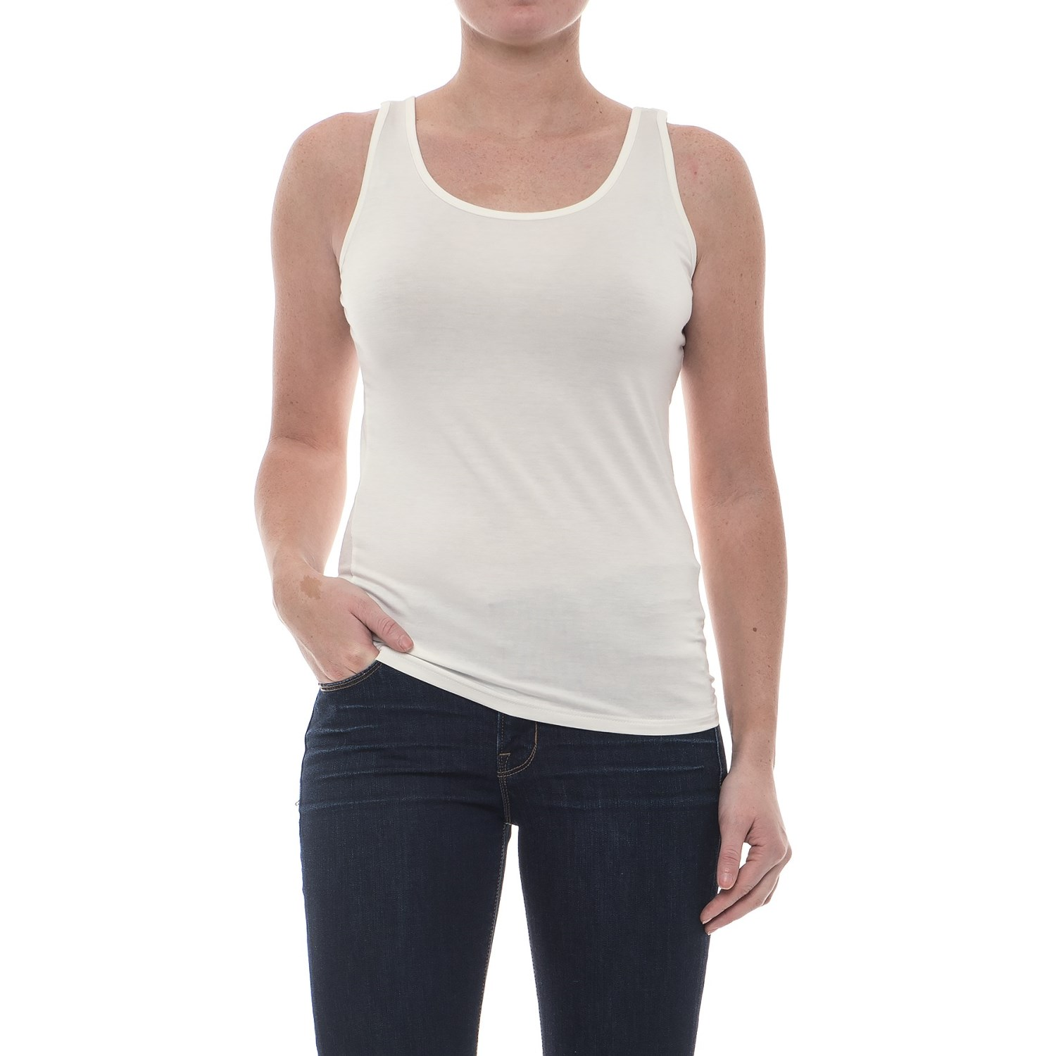CG Cable & Gauge Ultra Rib Basic Tank Top (For Women) - Save 55%