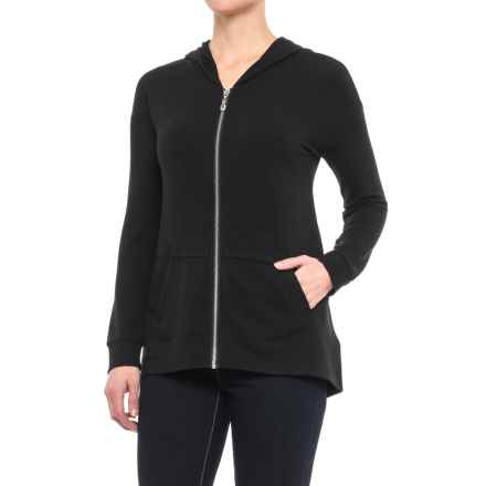 CG Cable & Gauge Zip Hoodie Shirt - Long Sleeve (For Women) in Black - Closeouts