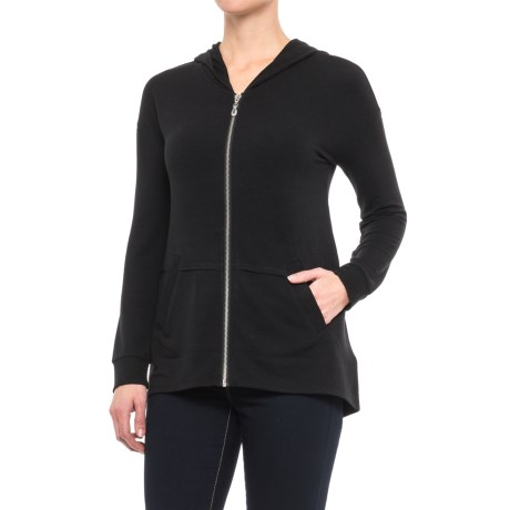 CG Cable and Gauge Zip Hoodie Shirt - Long Sleeve (For Women)